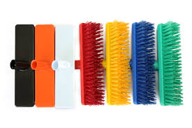 Hygiene deck scrub head